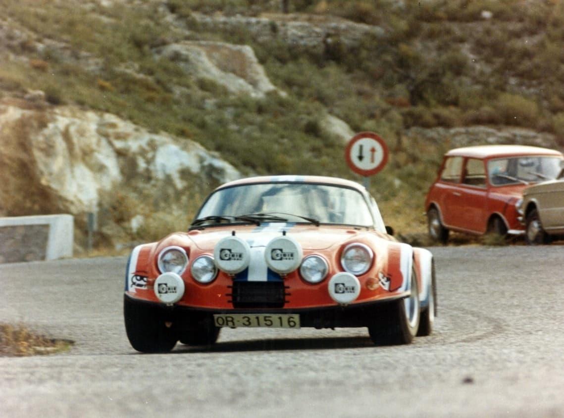 Alpinche Estanislao Reverter Rallye 11 | Alpinche : quand l'Alpine A110 passe au Flat-6 Porsche !