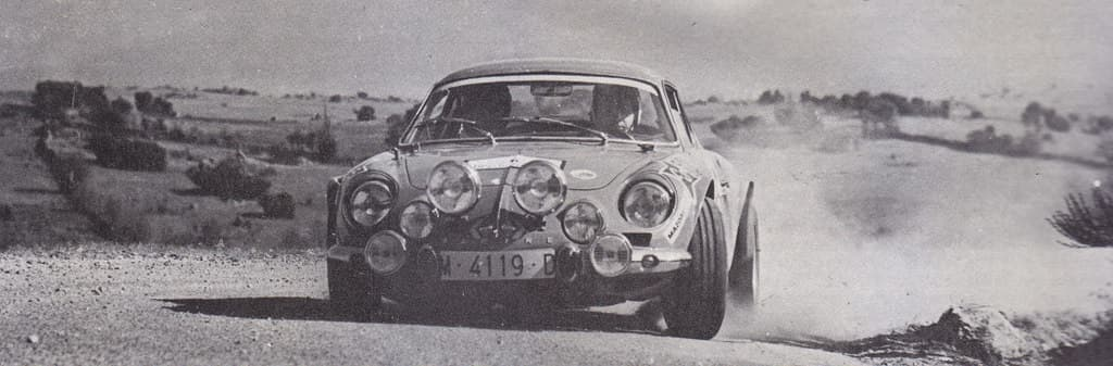 Alpinche Estanislao Reverter Rallye 2 | Alpinche : quand l'Alpine A110 passe au Flat-6 Porsche !