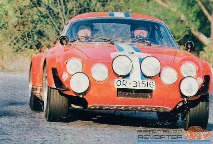 Alpinche Estanislao Reverter Rallye 6 | Alpinche : quand l'Alpine A110 passe au Flat-6 Porsche !