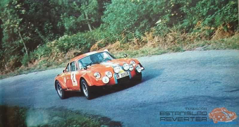 Alpinche Estanislao Reverter Rallye 8 | Alpinche : quand l'Alpine A110 passe au Flat-6 Porsche !