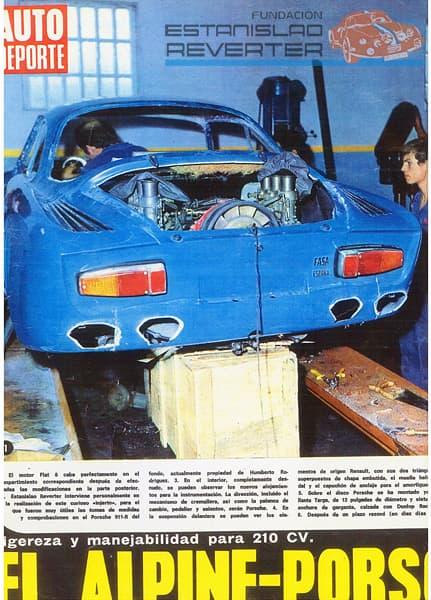 Autopista Alpinche 2 | Alpinche : quand l'Alpine A110 passe au Flat-6 Porsche !