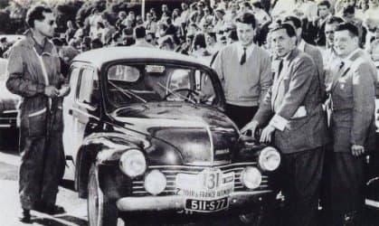 """Rédélé Pons 4 CV R 1063 Mille Miglia 1954   Il y a 10 ans, Jean Rédélé, """"Monsieur Alpine"""" nous quittait..."""