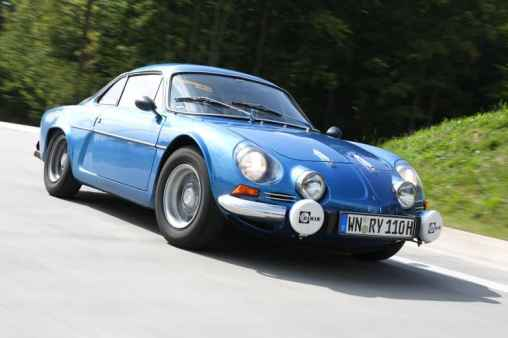 Alpine A110 1300 VC Alpine A310 V6 Alpine A610 3