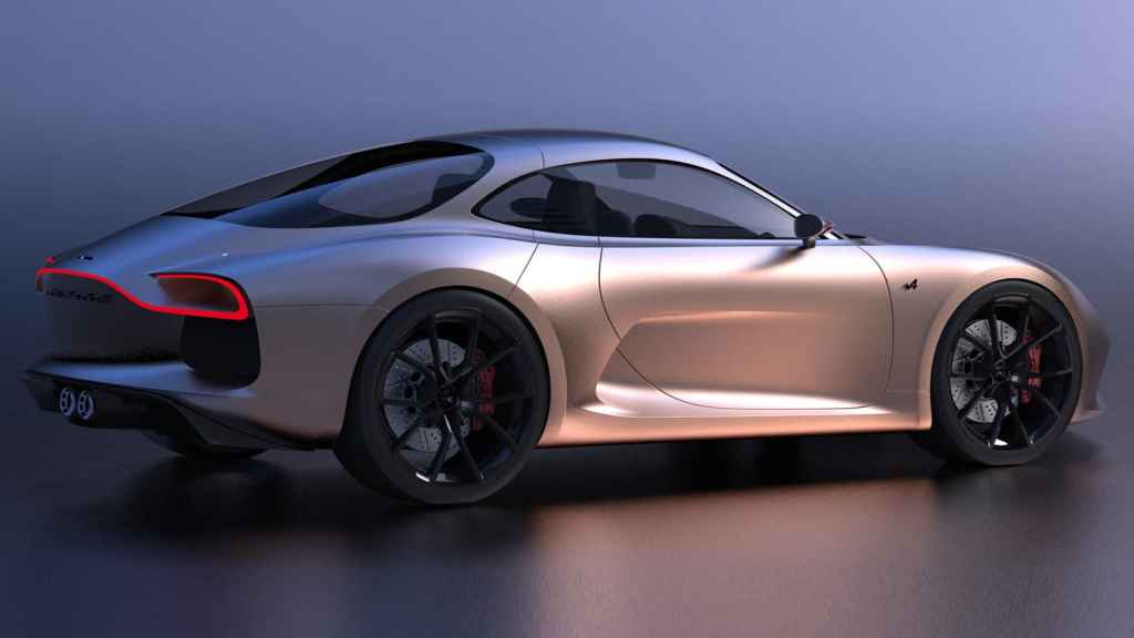 Alpine A110 Concept Kostromin 6 | Alpine GTA : l'étude du designer Arseny Kostromin qui s'inpire de l'A110