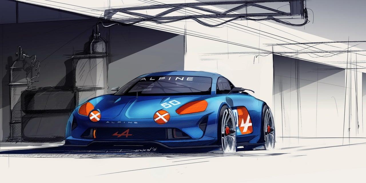 Alpine Célébration Concept Car 11 - Alpine Célébration