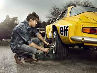 Sebastian Vettel Alpine A110 4