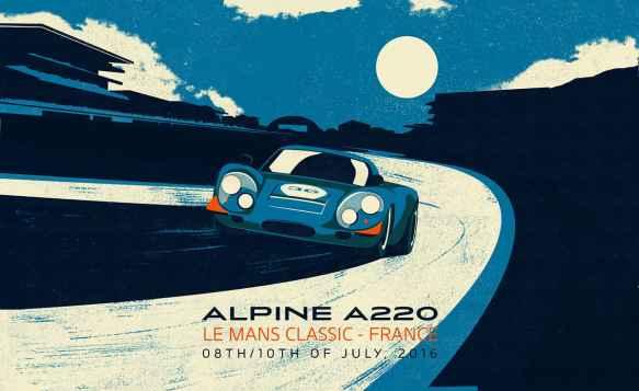 Alpine Cars Posters - 1