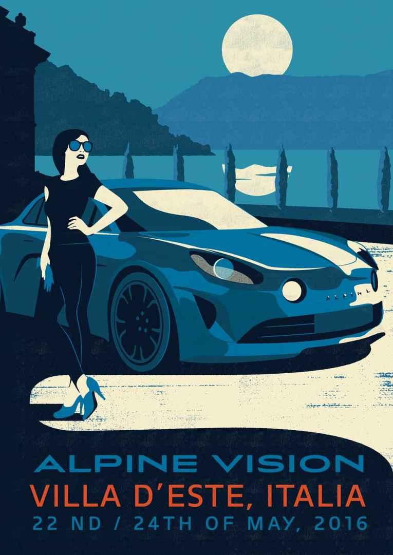 Alpine Cars Posters - 4