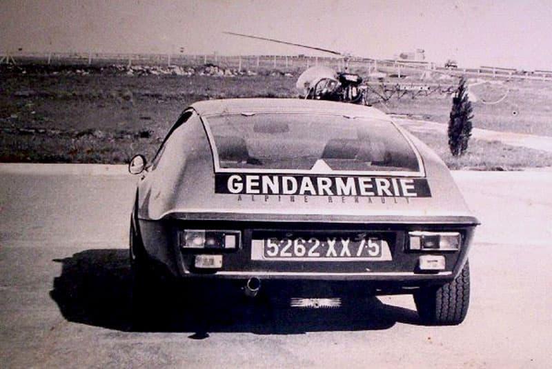 Alpine A310 4 Cylindres BRI Gendarmerie 2 | BRI : Alpine, au sein d'une unité d'élite