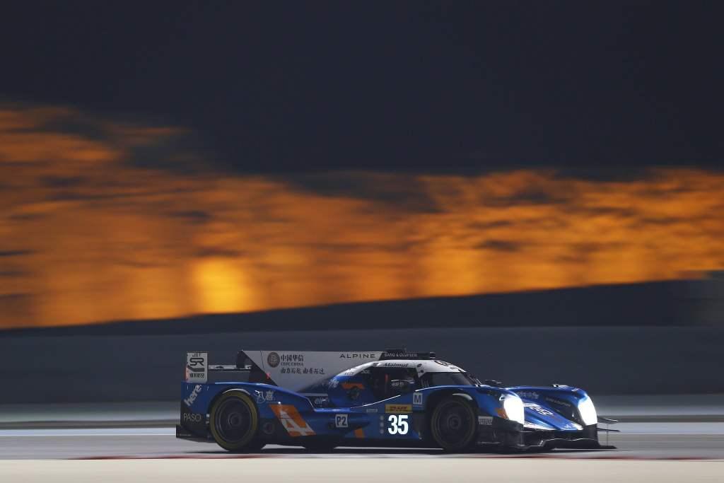 Signatech Alpine Bahreïn WEC 12   7ème et dernier podium pour Alpine à Bahreïn !