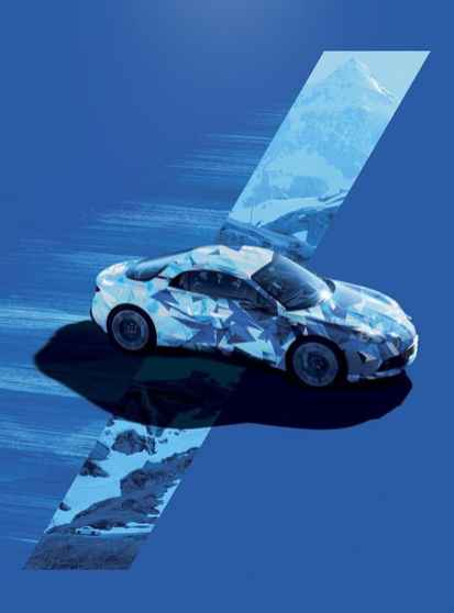 Alpine A120 AS1 affiche salon FIAC Paris - 4