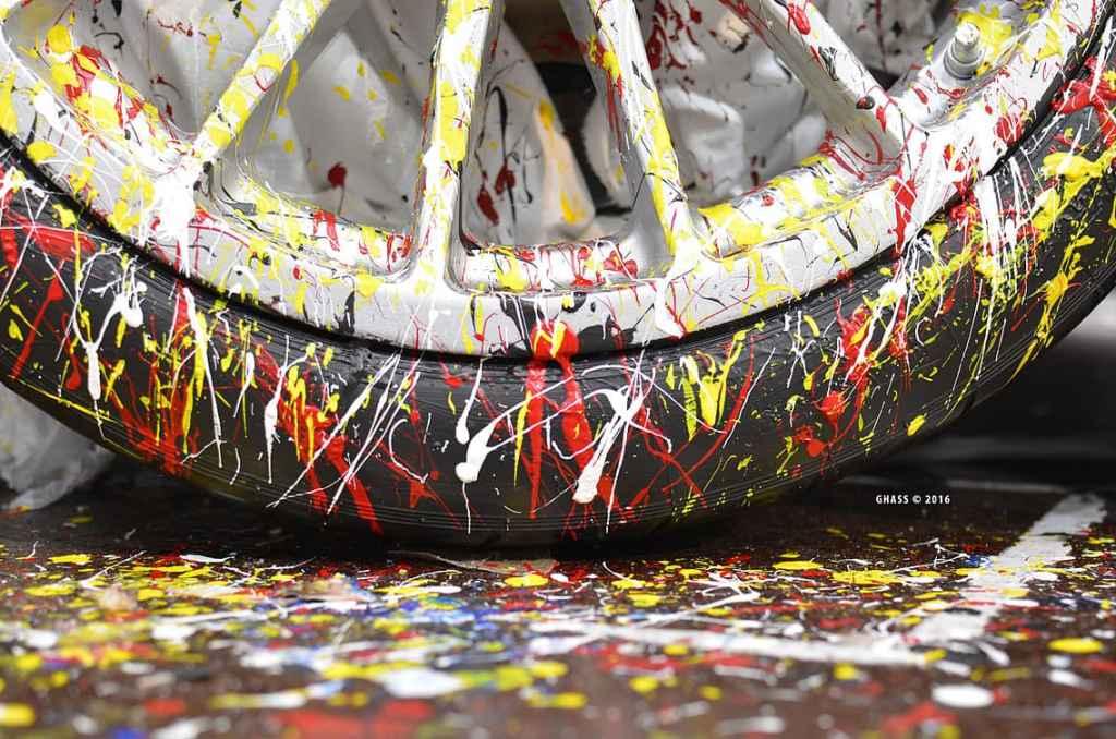 Alpine A450 Art Car Ghass Gare Marseilles 13 | A la rencontre de l'Alpine A110 X FELIPE PANTONE au Art Paris