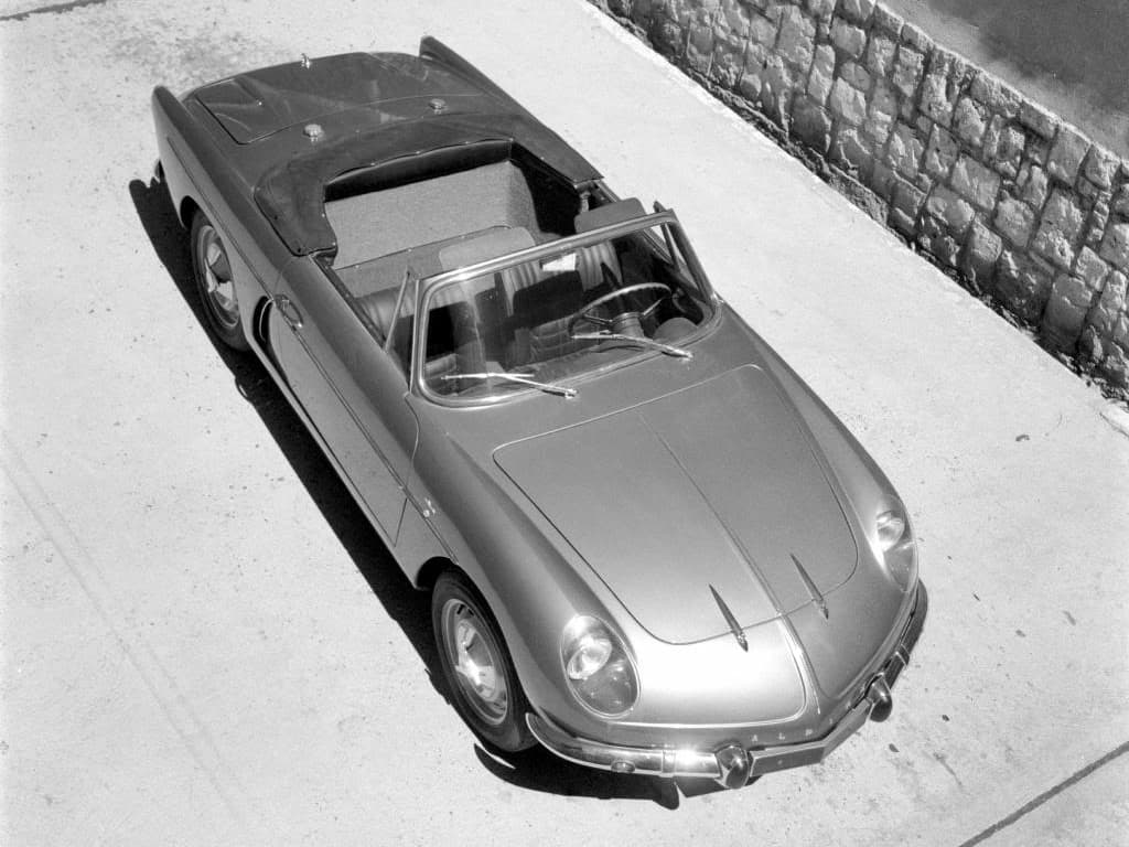 FASA Renault Alpine A108 Cabrio 1963–66 4   FASA Renault Alpine A110 : Amor de España !