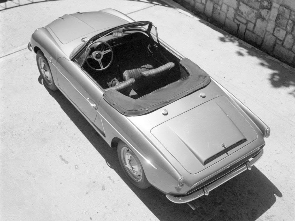 FASA Renault Alpine A108 Cabrio 1963–66 5   FASA Renault Alpine A110 : Amor de España !