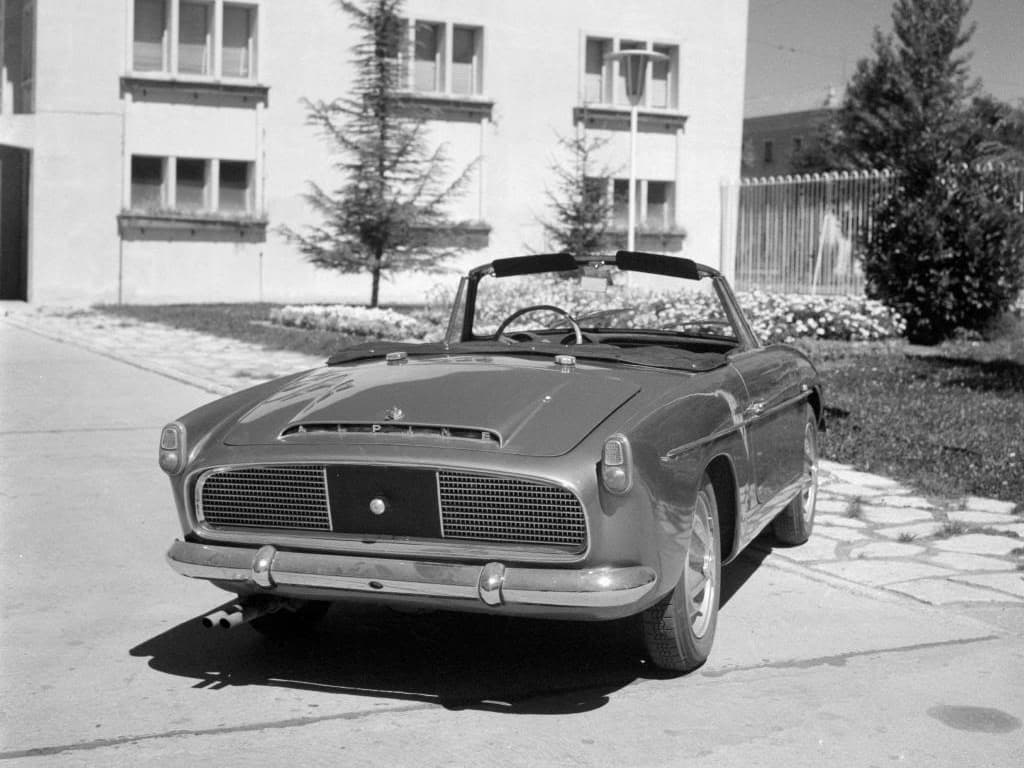 FASA Renault Alpine A108 Cabrio 1963–66 7   FASA Renault Alpine A110 : Amor de España !