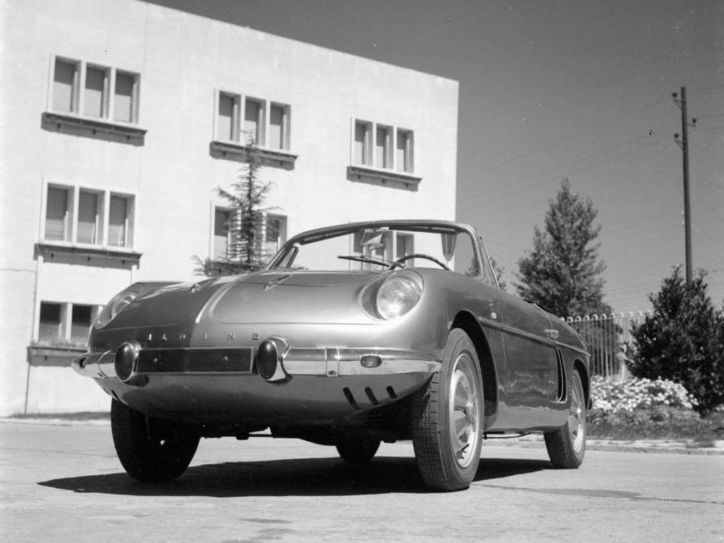 FASA Renault Alpine A108 Cabrio 1963–66   FASA Renault Alpine A110 : Amor de España !