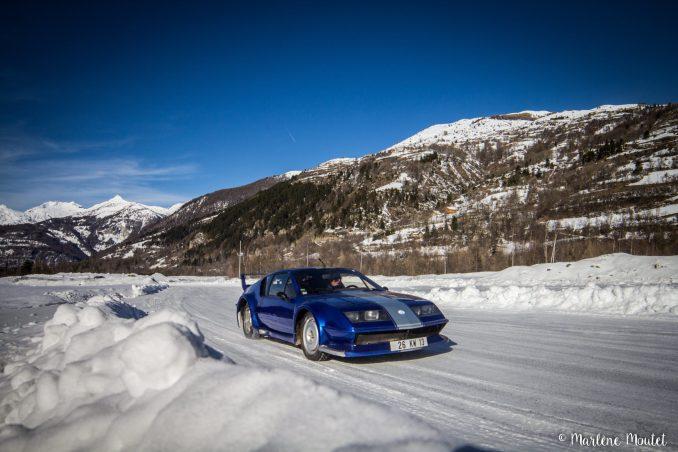Alpine A110 A310 Orcières piste glace marlene moutet - 16
