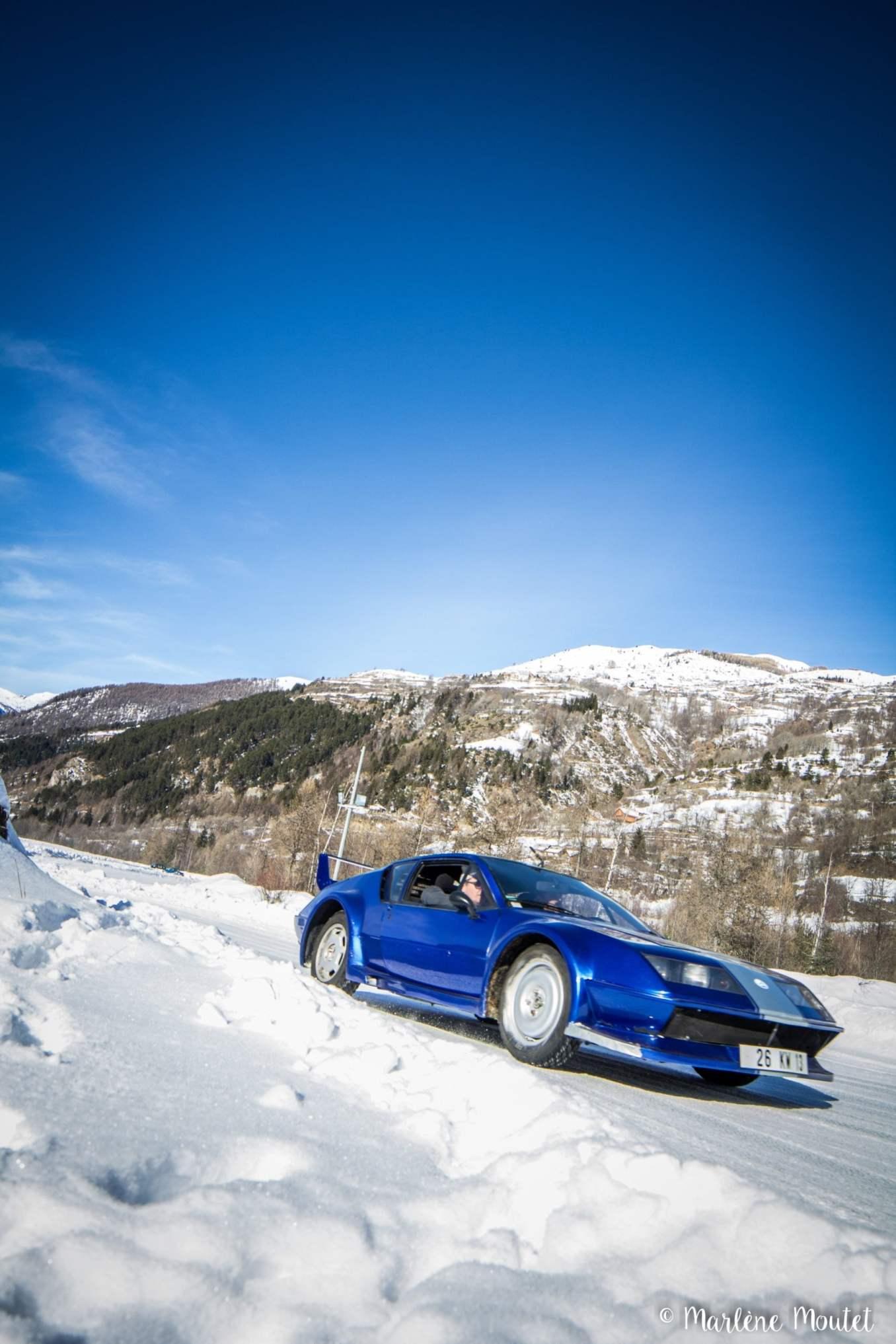 Alpine A110 A310 Orcières piste glace marlene moutet 24 scaled | Des Alpine et 1000 mètres de piste sur glace !