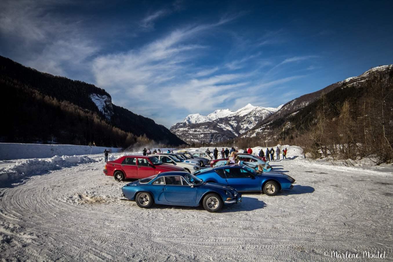 Alpine A110 A310 Orcières piste glace marlene moutet 25 scaled | Des Alpine et 1000 mètres de piste sur glace !