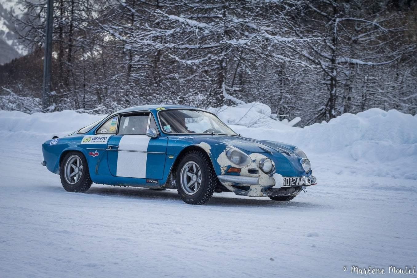 Alpine A110 A310 Orcières piste glace marlene moutet 3 | Des Alpine et 1000 mètres de piste sur glace !
