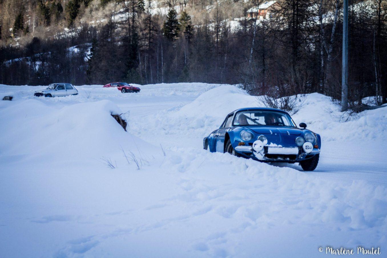 Alpine A110 A310 Orcières piste glace marlene moutet 36 scaled | Des Alpine et 1000 mètres de piste sur glace !
