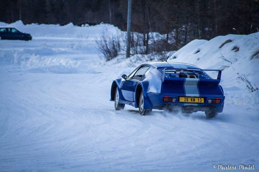 Alpine A110 A310 Orcières piste glace marlene moutet - 38