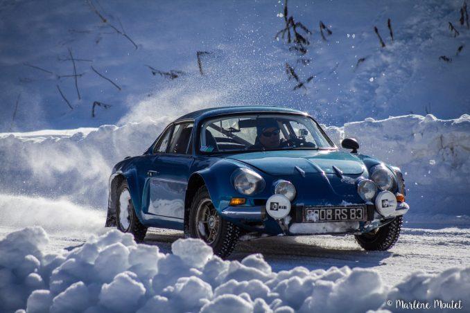 Alpine A110 A310 Orcières piste glace marlene moutet - 41