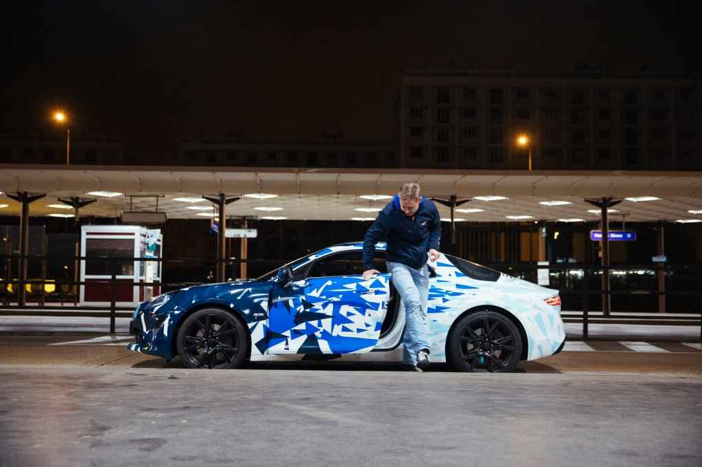 Alpine AS110 A110 Viree nocturne showroom 7 fevrier 2017 Team (11)