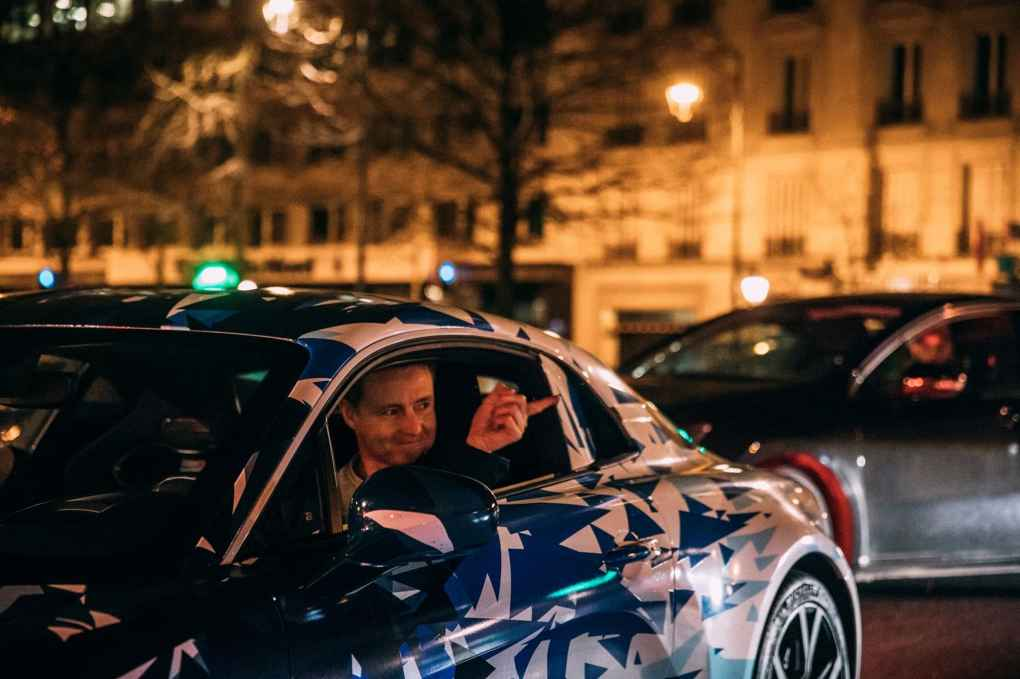Alpine AS110 A110 Viree nocturne showroom 7 fevrier 2017 Team (21)