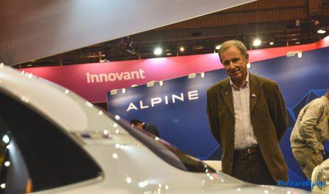 Alpine Jean Ragnotti GPE-Auto Rétromobile 2017