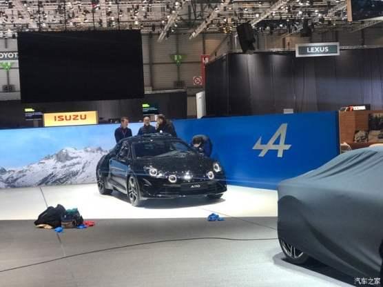 Alpine A110 Genève 2017 toutes coutures - 9