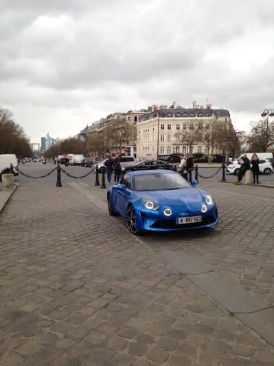 Alpine A110 Good France Paris Alain Ducasse - 1