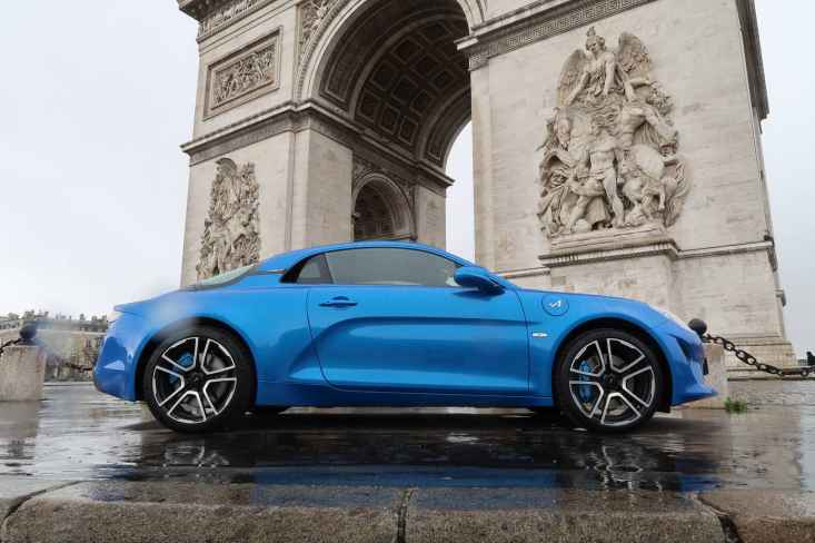 Alpine A110 Good France Paris Alain Ducasse - 12