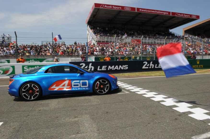 Alpine Celebration Concept Car 24 Heures du Mans 2015 - Alpine Célébration