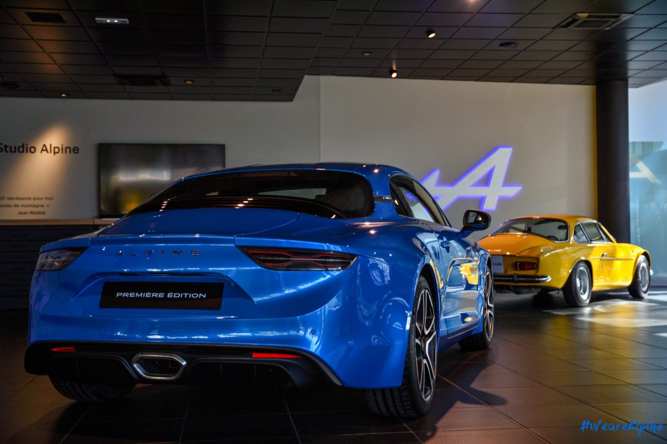 showroom ALPINE : ouverture et photos
