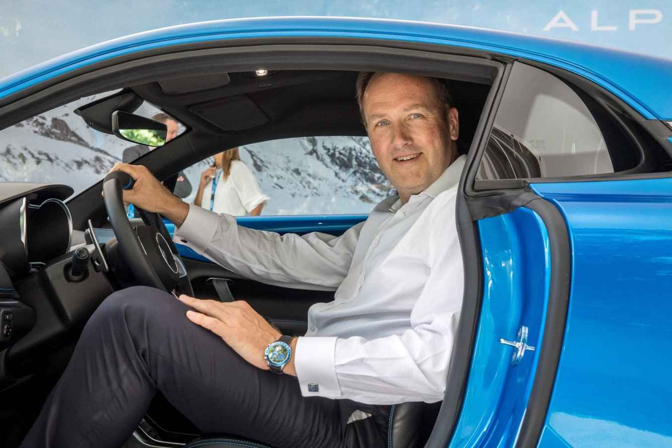 Alpine A110 2017 Mickael van der sande Parco Valentino Salone dellAuto di Torino 11 | Alpine prépare l'avenir et fait évoluer son organigramme