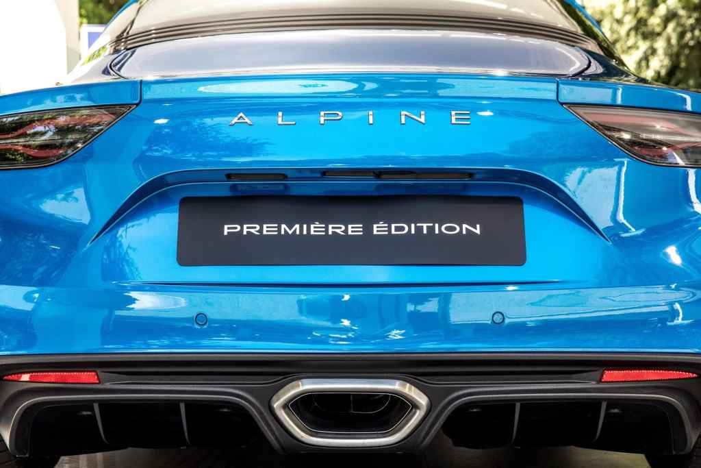 Alpine A110 2017 Mickael van der sande Parco Valentino Salone dellAuto di Torino 2 | Alpine A110 : les malus écologiques à venir en 2021 et 2022