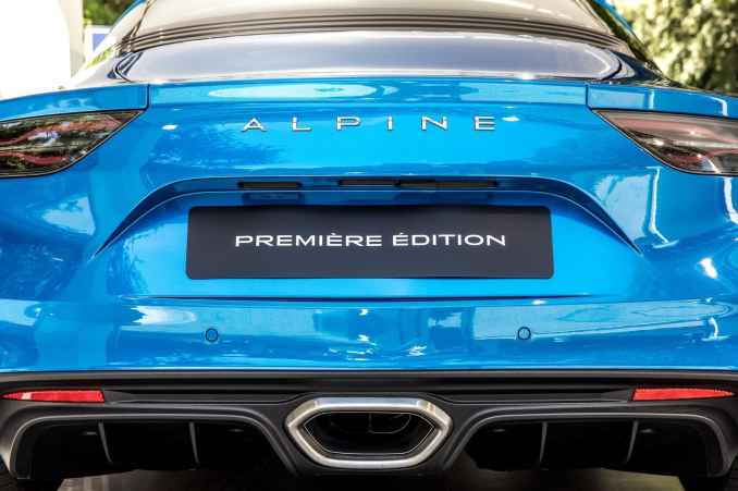 Alpine A110 2017 Mickael van der sande Parco Valentino - Salone dell'Auto di Torino - 2