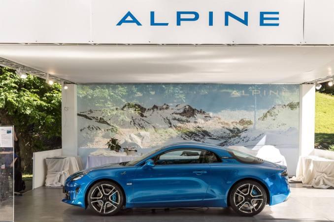 Alpine A110 2017 Mickael van der sande Parco Valentino - Salone dell'Auto di Torino - 3