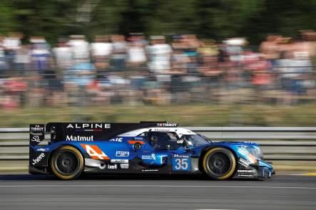 Alpine A470 24 Heures du Mans 2017 Signatech Matmut Endurance WEC Panciatici Ragues Menezes Rao Negrao Dumas (17)