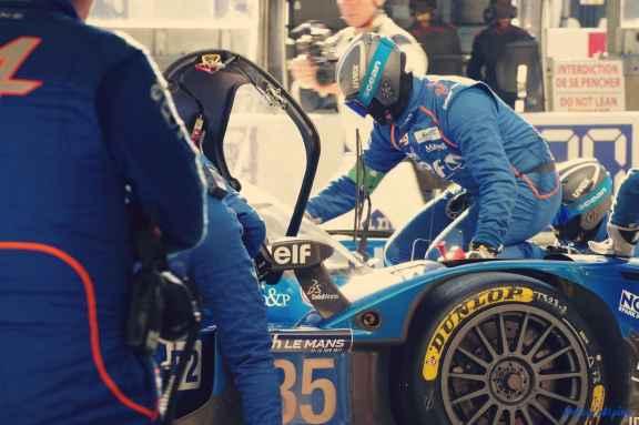 Alpine Planet WEC 24 Heures du Mans 2017 Signatech Alpine Ragues Panciatici Rao Negrao Dumas Menezes coulisses - 22-imp