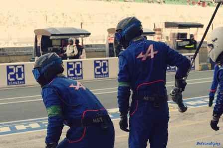 Alpine Planet WEC 24 Heures du Mans 2017 Signatech Alpine Ragues Panciatici Rao Negrao Dumas Menezes coulisses - 59-imp