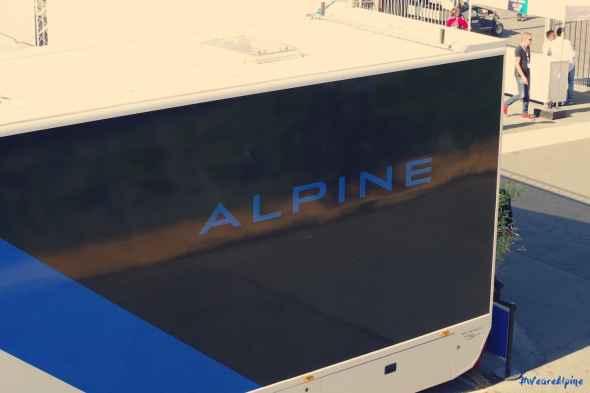 Alpine Planet WEC 24 Heures du Mans 2017 Signatech Alpine Ragues Panciatici Rao Negrao Dumas Menezes coulisses - 6-imp