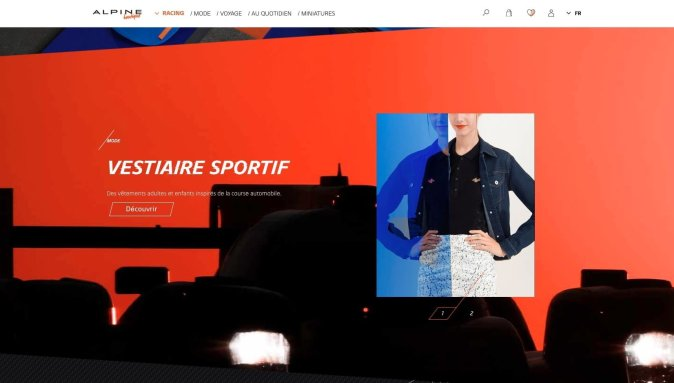 Boutique en ligne Alpine Cars Store Elegance Racing Signatech miniatures sacs bagages vêtements - 10