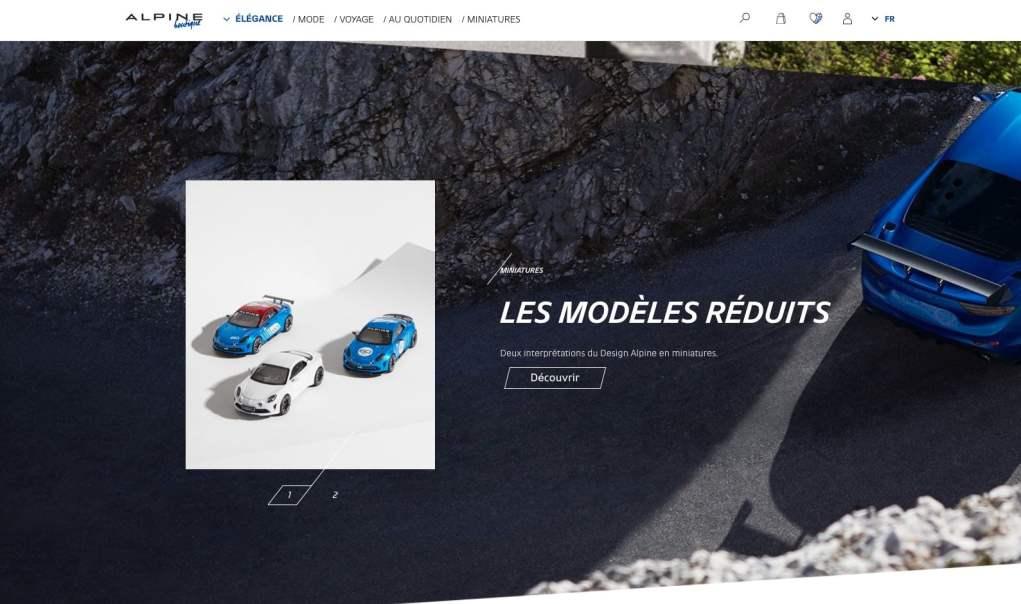Boutique en ligne Alpine Cars Store Elegance Racing Signatech miniatures sacs bagages vêtements - 7