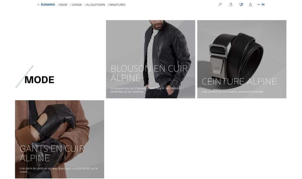 Boutique en ligne Alpine Cars Store Elegance Racing Signatech miniatures sacs bagages vêtements - 9