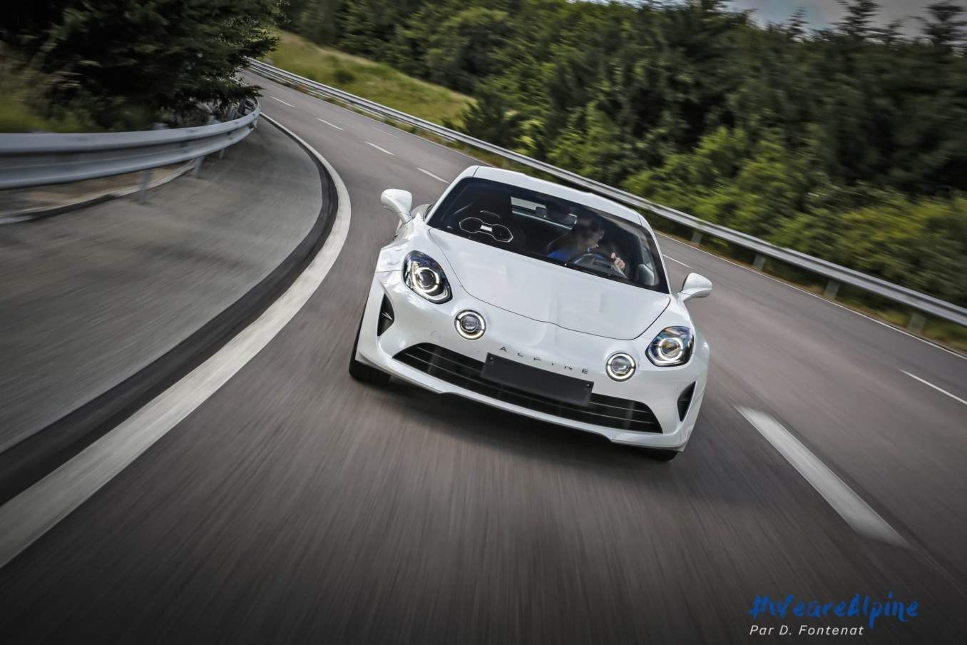 DF18696©D.Fontenat scaled | Essai vidéo de la nouvelle Alpine A110 sur circuit en exclusivité mondiale !
