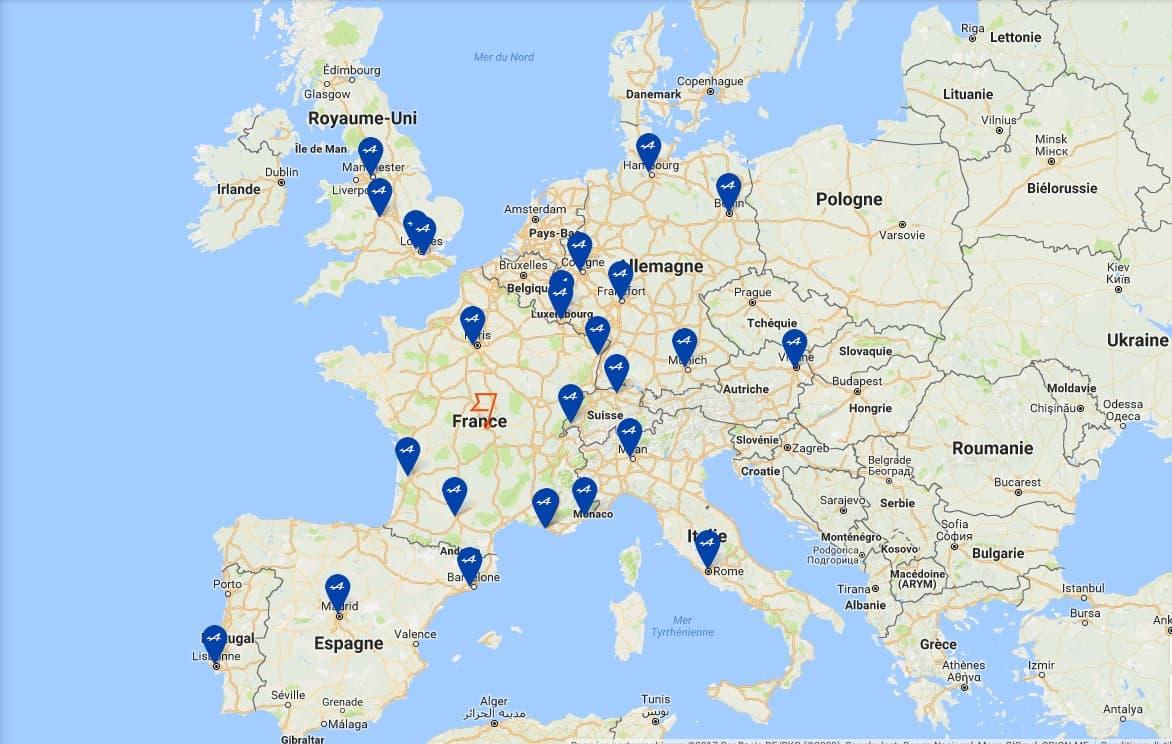 Carte centre alpine rrg france europe premium | Alpine dévoile son service client premium !