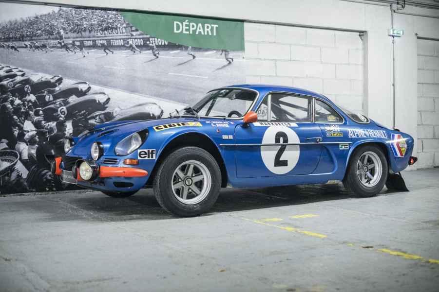 Alpine A110 1600S 1971 Usine Jean Pierre Nicolas - 1