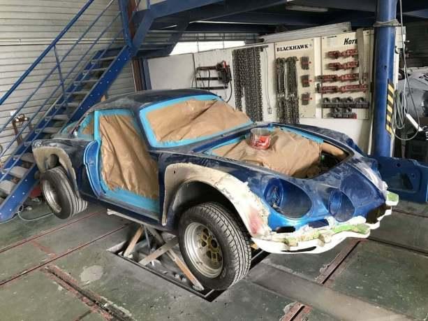 Alpine A110 RMC Decouverte Wheeler Dealers France 2017 Ragnotti - 2